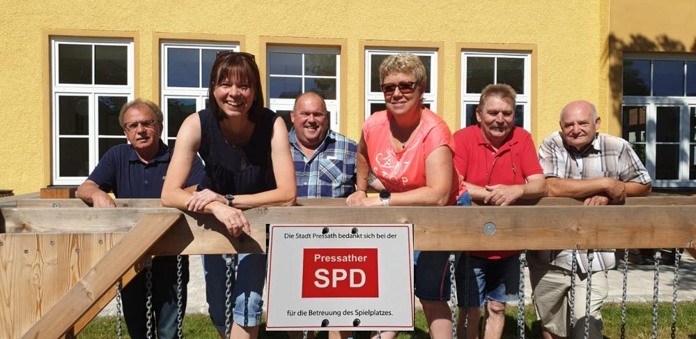 Generationenspielplatz Pressath SPD